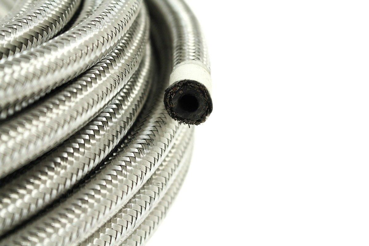 Przewód AN4 6mm CPE oplot stalowy - GRUBYGARAGE - Sklep Tuningowy